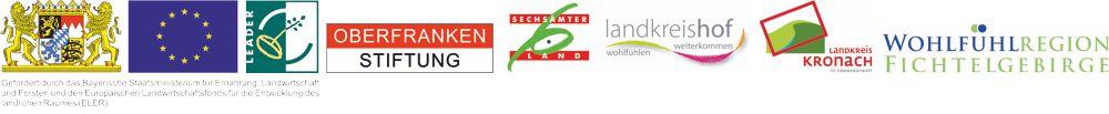 Logos der Fördergeber