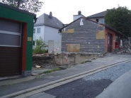 Nach dem Abriss des alten Gebäudes
